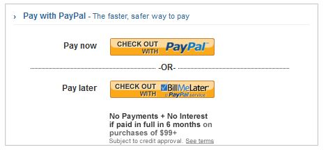 who accepts paypal pay later